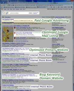 Being seen on search engines can be a great lead source