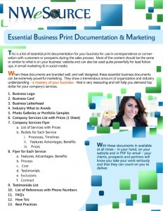 Essential Business Print Marketing Checklist