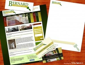 Bernard Painting Branding Package