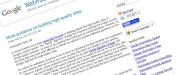 Quality Counts! Plus 500 Google Updates for 2011