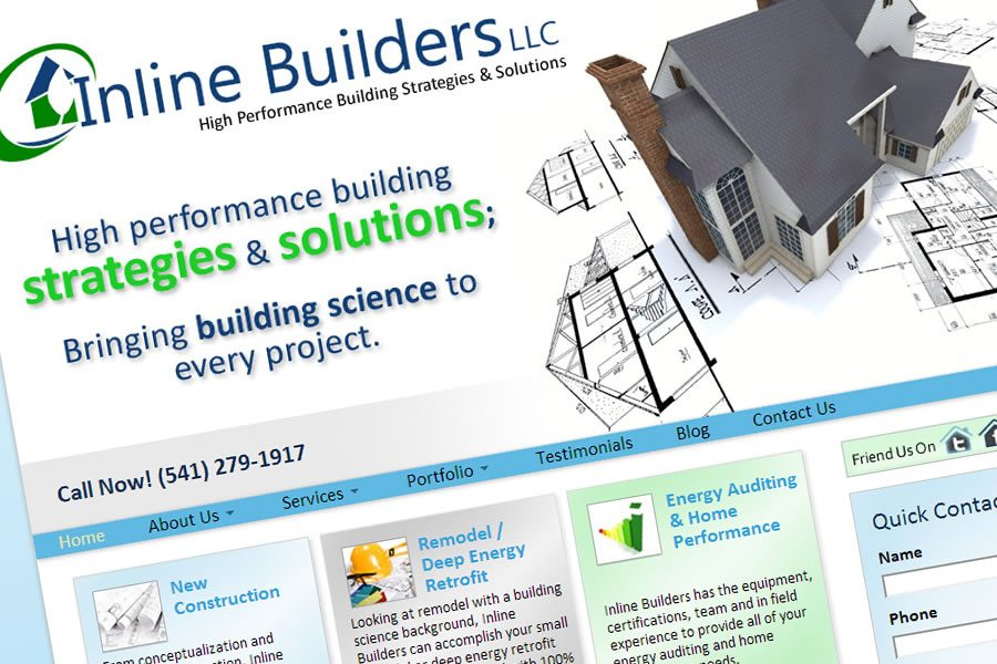 Inline Builders WordPress Website Launch!
