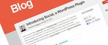 Blog, Facebook & Twitter Integration – Bring it home!
