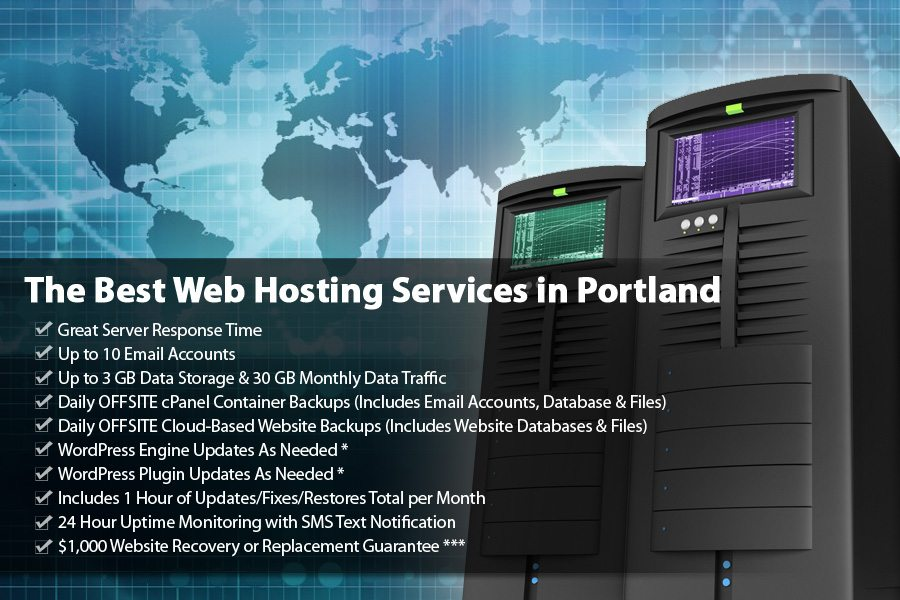 Managed Web Hosting for WordPress is extremely vital to keeping your site backed up and online!