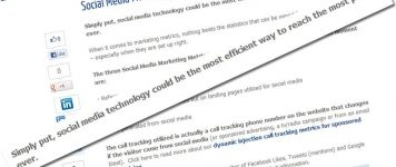 Social Media Marketing Metrics & Analysis